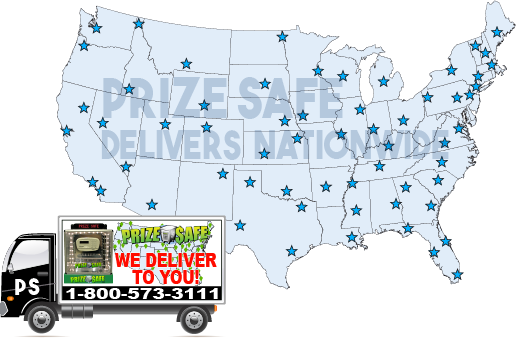 NATIONWIDE delivery prizesafe